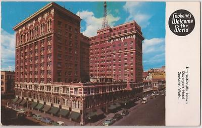 "1974 Spokane World's Fair Postcard ""Welcome to the World"" Davenport Hotel Unused"