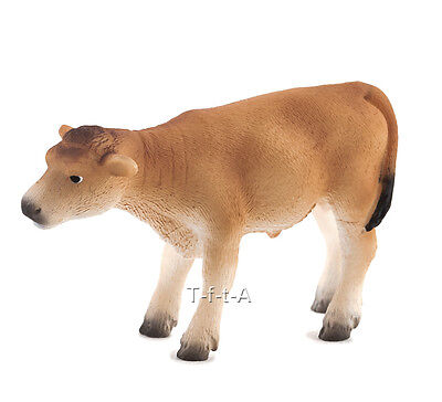 FREE SHIPPING | Mojo Fun 387147 Jersey Calf Standing Farm Cow- New in Package