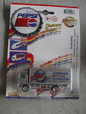 Golden Wheel Pepsi Diecast Plastic New Generation Delivery Truck  NIP