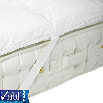 Memory Foam Mattress Toppers In All Sizes And Depth + Coolmax Removable Cover