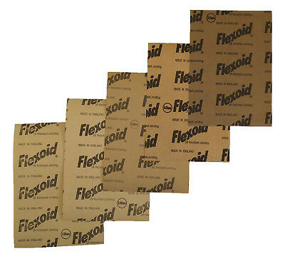 Gasket Paper Material - Oil And Water Resistant - 5X A4 Sheets