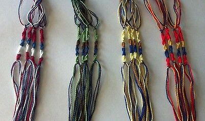 15  Colorful Tzitzit Tzitziot Tassle Sets or Packages for Appointed Times Moedim