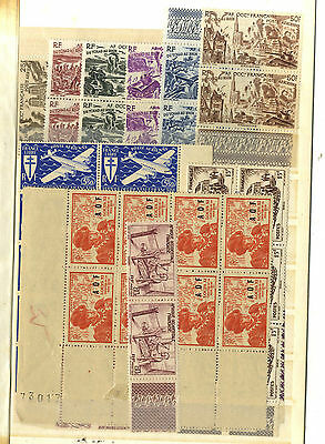 52 Timbres  Afrique Occidentale Francaise