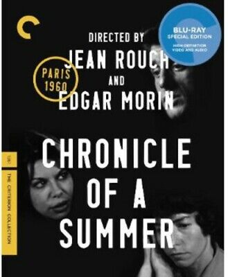 Chronicle of a Summer [Criterion Collection] (2013, Blu-ray NEW)