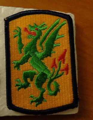ARMY PATCH,SSI  415TH MANEUVER ENHANCEMENT (WAS CHEMICAL) BRIGADE