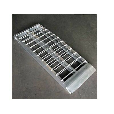 Moto professional EXTRA Wide Motorcycle pad Access ramp aluminum ramp 600Kg