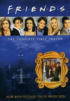 Friends: The Complete First Season [4 Discs] (2010, DVD NEW)