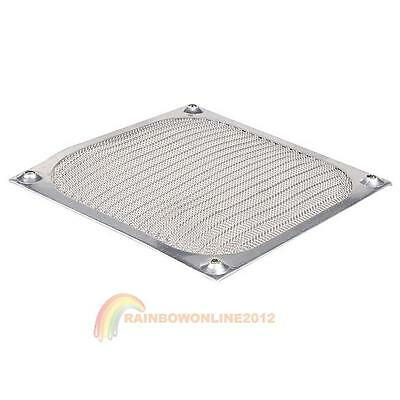 Aluminum Dustproof Cover Dust Filter 120mm for PC Cooling Chassis Fan 120x120mm