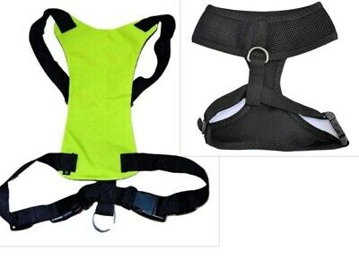 New Dog Car Strap Air Mesh Harness +  Free Pet Seat Belt Lead - UK Seller