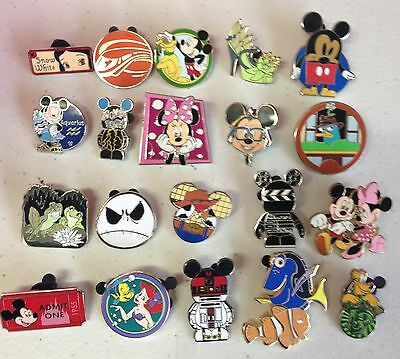 Disney Trading Pin Lot of 200, 100% Tradable RANDOM Grab BAG, PAS #.2