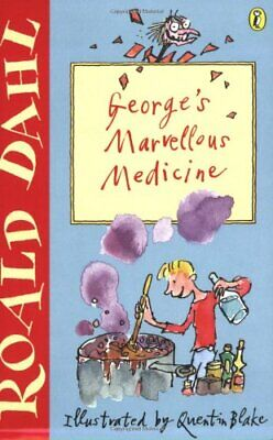 George's Marvellous Medicine by Dahl, Roald Paperback Book The Cheap Fast Free