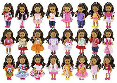 20 items= 10 Fashion Lovely Clothes Dress Outfit+10 Pairs Shoes For Kelly Doll
