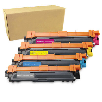 4PK TN221 Color Toner for Brother TN225 HL-3140CW HL-3170CDW MFC-9130CW 9330CDW