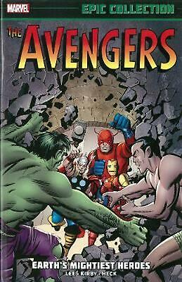Avengers Epic Collection: Earth's Mightiest Heroes by Stan Lee (English) Paperba