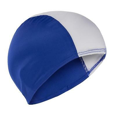 Swimming Hat Childs Childrens Boys Girls  Fabric Swim Cap Blue, Red, Black Cheap