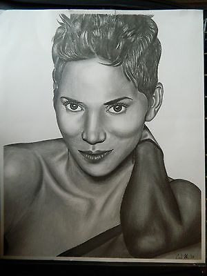 Drawing of Halle Berry