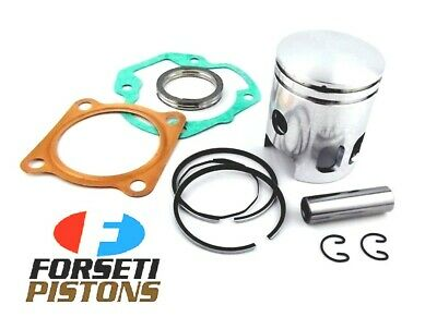 YAMAHA GT80 74-79 STD FORSETI TOP END KIT 47mm PISTON RINGS PIN CLIPS GASKET