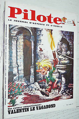 Pilote Eo N°517 02/10 1969 Pilotorama Chine Asterix Fred Tanguy Greg Blueberry