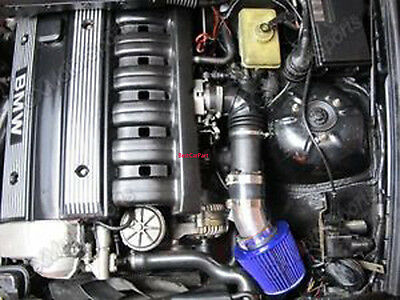 Bcp Blue 99 05 Bmw E46 3 Series 323 325 328 330 Short Ram Air Intake Filter