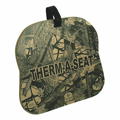 """Nep Therm-A-Seat® 3/4"""" Thick Brown Invision Camo Hot Seat Pad 702"""