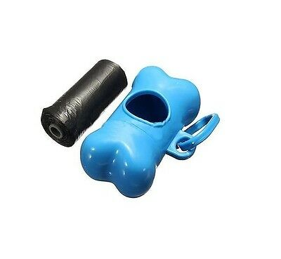 New Puppy Dog Pet Waste Poo Poop Bags Holder Portable Pick Up Refill Pack