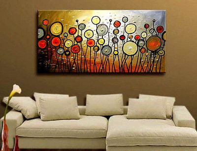 BEAUTIFUL MODERN ABSTRACT HUGE LARGE CANVAS ART OIL PAINTING(no frame)