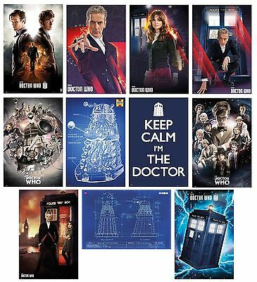 DOCTOR WHO - POSTERS (Official) 61x91.5cm - Large Range Of Characters (Maxi)