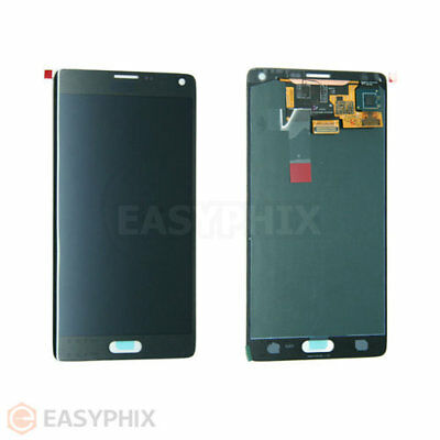 LCD Digitizer Touch Screen Glass Assembly for Samsung Galaxy Note 4 N910G Black
