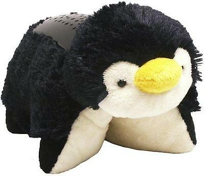Dream Lite Playful Penguin Night Light Projector 3 Soothing Light Options