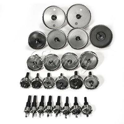 Hole Saw Holesaw Drill Tooth Kit HSS Steel Bits Cutter Tool For Metal Wood Alloy