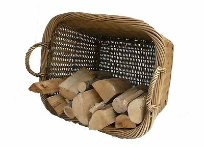 Manor Fireside Fire Place Large Country Wood Log Basket 0396