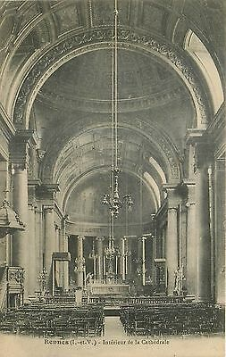 35 Rennes Interieur Cathedrale