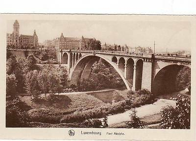 LUXEMBOURG le pont adolphe