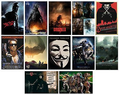 MOVIE POSTERS (Official) 61x91.5cm - Large Range Of Films (Wall/Bedroom)(Maxi)