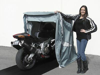 SpeedWay Gray Standard Sport Harley / Metric Motorcycle All Weather Shelter