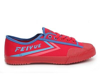 Feiyue Shoes (Lo Canvas Runners Red, Parkour Shoes, Kung fu Shoes)