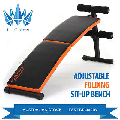 Multi Function Adjustable Folding abdominal Sit up Bench with Padded cushion