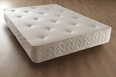 "Single Memory Pocket Mattress 10"" Hypo Allergenic Uk Standard"