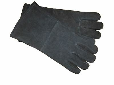 Manor Fireside Fireplace Heat Resistant Stove Gloves For Coal & Log Fires - 2004