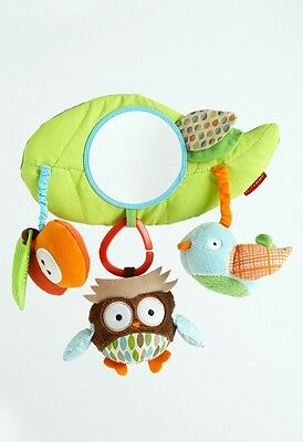 Skip Hop Treetop Friends Stroller Bar Activity Toys - Baby Car Seat Carriers