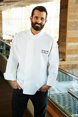 Chef Works Tours Cool Vent Executive Classic Fit Chef Coat Pcdf
