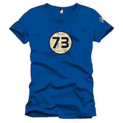 T-Shirt Big Bang Theory 73 Perfect Blue S, M et L Licence Officielle