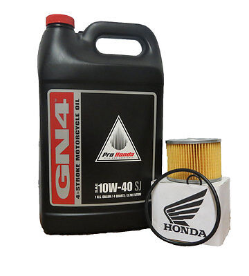 1986 Honda Gl1200I/a Gold Wing Aspencade/gold Wing Interstate Oil Change Kit