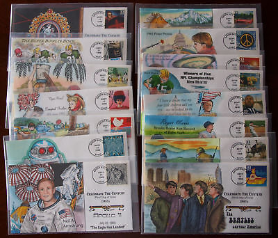 15 COMPLETE SET OF 1960s CELEBRATE THE CENTURY L19