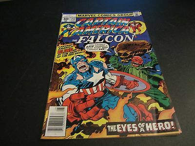 CAPTAIN AMERICA #212 awesome red skull cover!!!