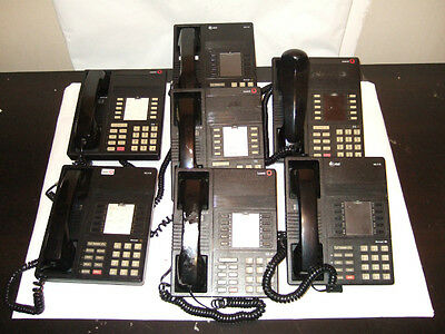 LOT OF 7 - AT&T / LUCENT MLX-10 Business Phones    Used     ---  GUARANTEED ---