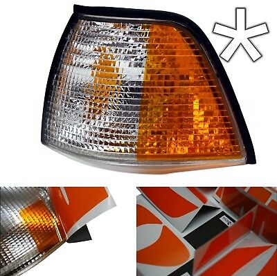 US - Design - Folie f. weiße Blinker BMW E36 Limo Touring Compact rechts/links