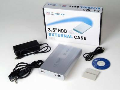"Box Esterno Hard disk Case Per Hdd SATA Da 3.5"" Usb 2.0 - Basic Edition"