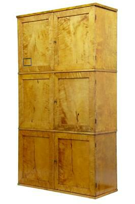 Unusual Late 19Th Century Set Of 3 Stackable Pigeon Hole Lockers