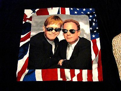 BILLY JOEL / ELTON JOHN 1994 TOUR T-Shirt ... Excellent condition